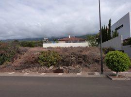 Solar en primera línea en Santa Úrsula - Zona La Quinta Roja